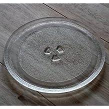 Microondas reemplazo giradiscos plato de vidrio universal repuestos microondas repuesto plate plato microondas Lavavajillas, 28,5 cm 1100 watts