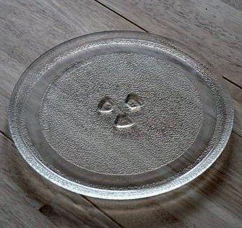 31,5 cm PIATTO rotante Universale sostituzione microonde piatto girevole vassoio di vetro Ricambi Microonde Piastra di ricambio con 31.5 centimetri di diametro piatto microonde piatto piatto microonde