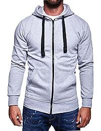 MT Styles veste sweat avec capuche homme SW-2153