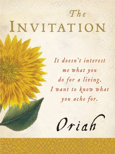 The Invitation (Plus) by [Oriah]