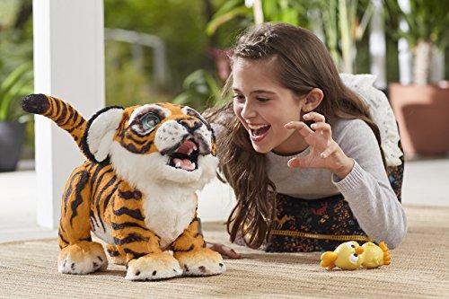 Hasbro FurReal Friends B9071100 Tyler, der Königstiger, elektronisches Haustier - 4