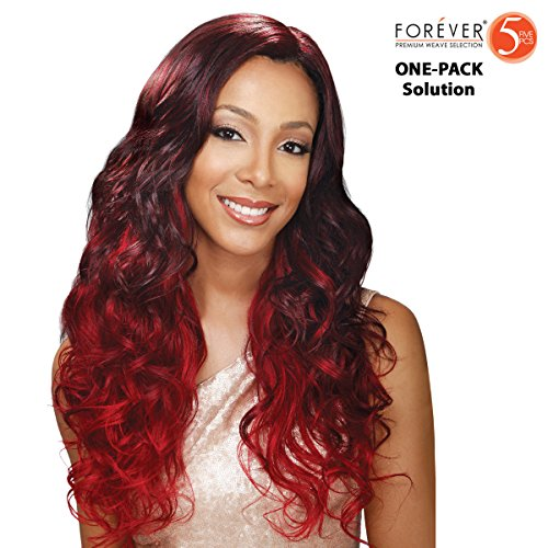 Bobbi Boss Forever galons de 5 – Tropical Wave – (4 Pack complet) Weave