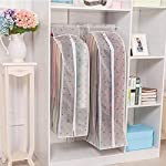 Skyclean Large Vacuum Bags for Storing Clothes Garment Suit Coat Dust Cover Protector Wardrobe Storage Bag Case for...
