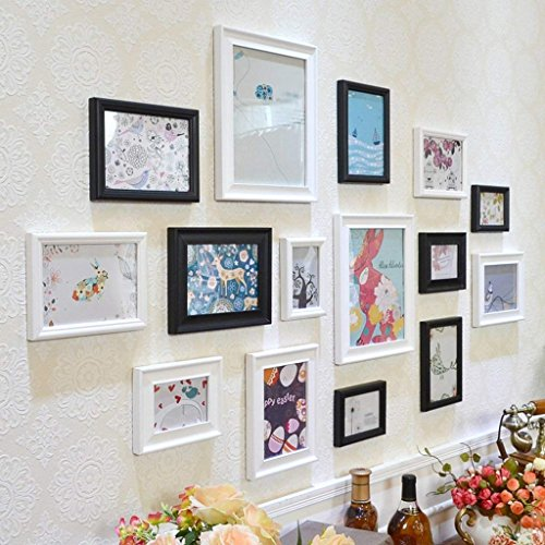 fsdacswds Regal Raumteiler Modern Art von Einfache Ideen Papier-Kombination von Massivholz Deko Wandfarbe Schlafzimmer Wohnzimmer modern Malerei Kombination Happy A