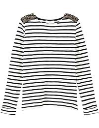 Promod T-shirt marinière Femme