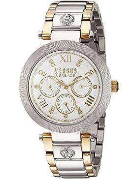 Versus  Damen -Armbanduhr  Analog  Quarz Stahl SCA020016
