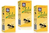 3 Bottles Tala ANT EGG OIL Hair Removal Genuine Organic Permanent Hair Removal Hair Reducing Solution 20ml/0.7oz