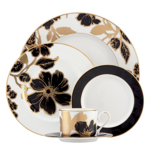 Lenox China (Lenox Minstrel Gold 5-Piece Place Setting by Lenox)