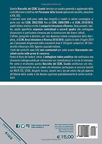 Zoom IMG-1 raccolta ccnl scuola