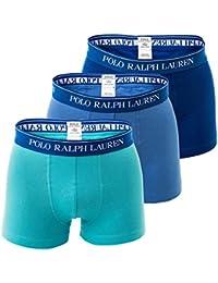 POLO RALPH LAUREN Shorts pour Homme, Classique, Solide - Bleu / Turquoise