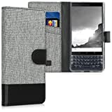 kwmobile BlackBerry KEYtwo LE (Key2 LE) Hülle - Kunstleder Wallet Case für BlackBerry KEYtwo LE (Key2 LE) mit Kartenfächern und Stand