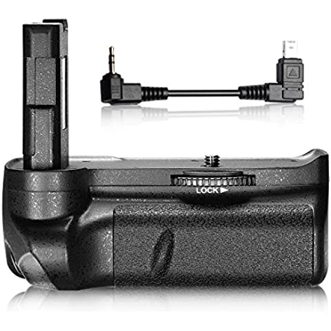 Neewer® Professionale Batteria Impugnatura Verticale per Fotocamera Digitale NIKON D3100/D3200/D3300 SLR Batteria EN-EL14