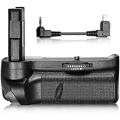 Neewer® Professionale Batteria Impugnatura Verticale per Fotocamera Digitale NIKON D3100/D3200/D3300