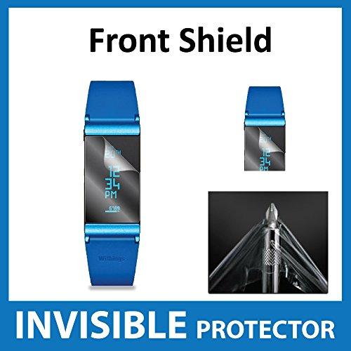Withings Pulse Ox Bildschirmschutzfolie unsichtbar vorne Shield Military Grade Schutz Exklusiv von Ace Fall