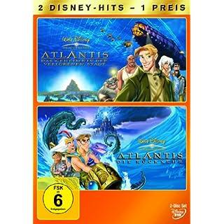 Atlantis - Das Geheimnis der verlorenen Stadt / Atlantis - Die Rückkehr [2 DVDs]