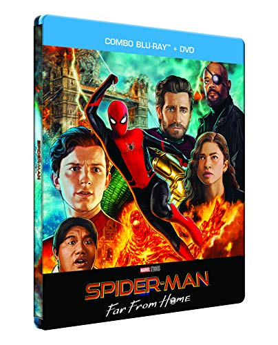 Spider-Man : Far from Home [Boîtier SteelBook limité exclusif Amazon - Blu-ray + DVD]