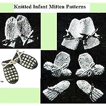 Patrones de manopla de punto bebé