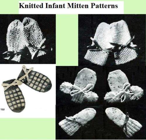Patrones de manopla de punto bebé por Unknown
