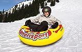 Ameri-Sport Snowtube Rodel Rutschreifen Schlitten - Sportsstuff