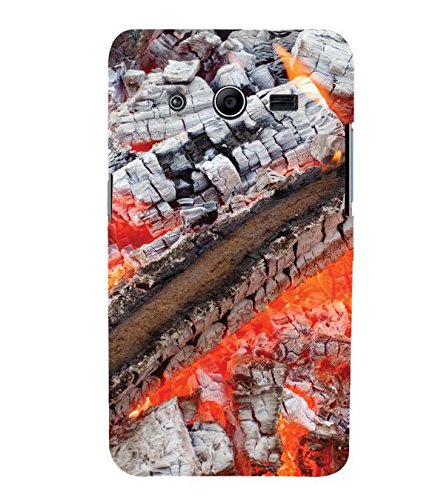 YuBingo Samsung Galaxy Core 2 G355H :: Samsung Galaxy Core Ii :: Samsung Galaxy Core 2 Dual Designer Phone Back Case Cover ( Fire and Ash )  available at amazon for Rs.521