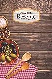 Meine besten Rezepte: Das Rezeptbuch zum selber eintragen als blanko Kochbuch mit Platz für 100 Rezepte / M7