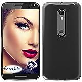 mtb more energy® Schutz-Hülle Clear & Slim für Motorola Moto X Style (5.7'') | transparent | flexibel | TPU Case Schutz Hülle Tasche