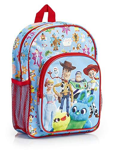 Disney Toy Story 4 Zaino Bambina Bambino Giocattoli Forky Woody Jessie Ducky Bunny, Zainetto Bimbo per Prima Classe Scuola Asilo, Borsa Da Viaggio, Bagaglio A Mano, Ottimo Regalo per Bimbi da 3+ Anni