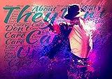 ula bear Michael Jackson–They Don 't Care About Us 4–Pop Star Legende Superstar King Best Farbe Foto Bild Einzigartige Print A3Wand Poster