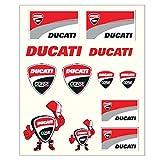 Ducati Corse Moto GP Rennen Team Große Aufkleber Offiziell 2017
