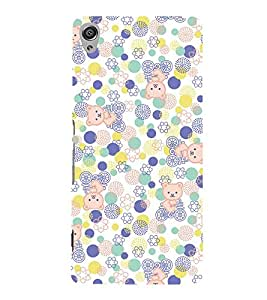 Cute Kitty Cycle 3D Hard Polycarbonate Designer Back Case Cover for Sony Xperia XA :: Sony Xperia XA Dual