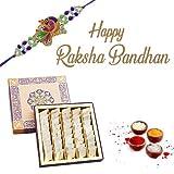 #3: Ghasitaram's Rakhi Special Pure Kaju Katlis Mithai Box (400g)
