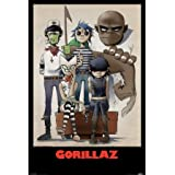 Gorillaz- All Here 61 x 91 cm Póster