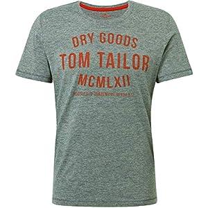 TOM TAILOR Herren Logo T-Shirt