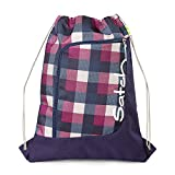 SATCH Berry Carry Kinder-Sporttasche SAT-SPO-001-966, 44 cm, 12 L, Purple Blue Checks