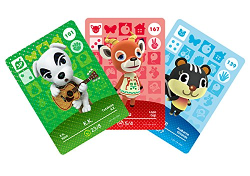 Animal Crossing amiibo cards series 2 - 3