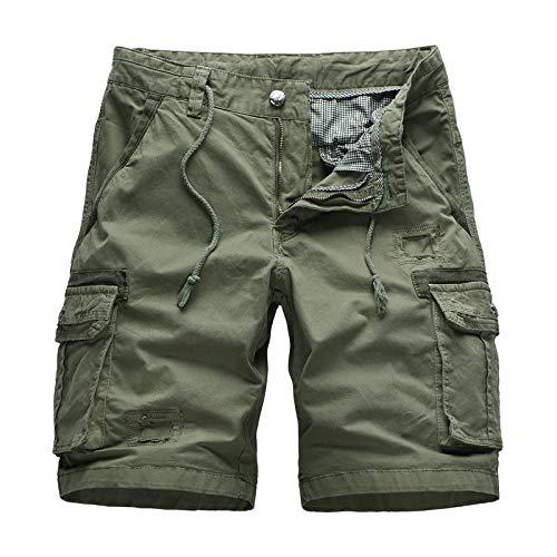 Ozon Bib (CHLCH Herren Sport Shorts Jogginghose KordelzugLatzhose, große Größe, mehrere Taschen, Tarnfarbe 38)
