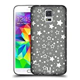 Head Case Designs Sterne Silber Urlaub Kollektion Snap-on Schutzhülle Back Case für Samsung Galaxy S5
