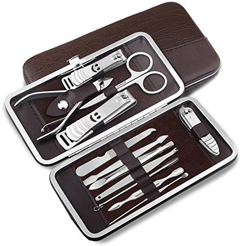 12 piece Stainless Steel Manicure Pedicure set