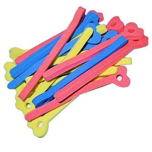Volumen und Locken Papilotten - Lockenwickler für kurzes und langes Haar - 18 Stück Flex-Wickler mit Tasche
