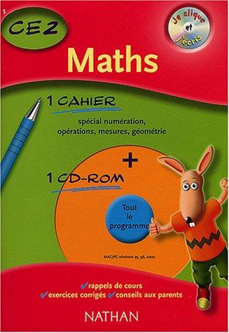 Je clique et j'écris : Maths CE2, 2003