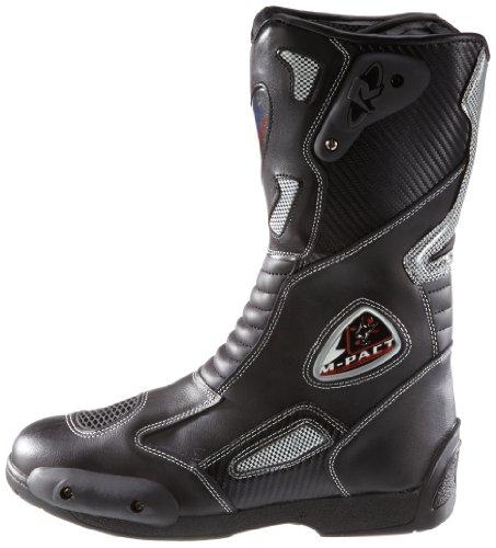 Protectwear SB-03203-43 Motorradstiefel, Allroundstiefel, Sportstiefel aus Leder, Größe 43, Schwarz - 5