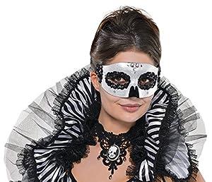 Máscara veneciana cráneo adulto Internacional Amscan
