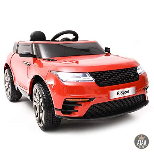ATAA R-Sport 12v - Rojo - Coche eléctrico para niños con Mando Padres y batería 12v