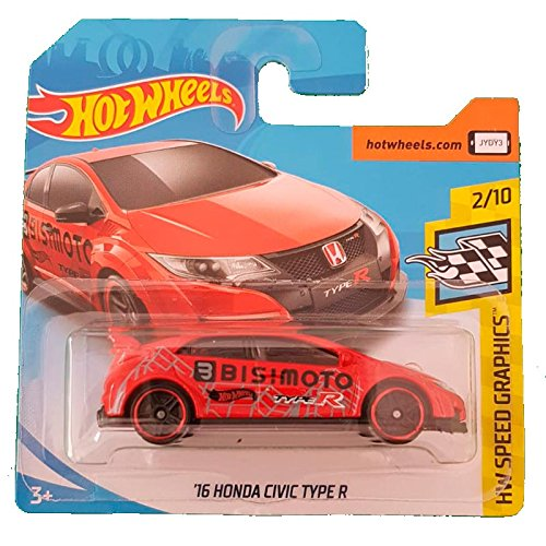 Hot Wheels '16 Honda Civic Type R HW Speed Graphics 2/10 (126/365)