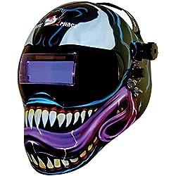 Save Phace Casco de soldadura, diseño de Venom de Marvel, EFP Gen Y