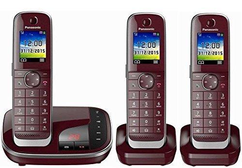 KX-TGJ322GR+1 Trio - Schnurloses Telefon-3 Mobilteile