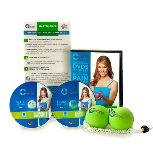 Jill Miller Yoga Tune Up Massage Therapy Full Body Kit - Therapy Balls &...