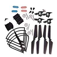 YouCute Spare Part Kit for MJX DROCON X708W X708P Rc Quadcopter Drone Blade Gear Lading Gear Frame Gear