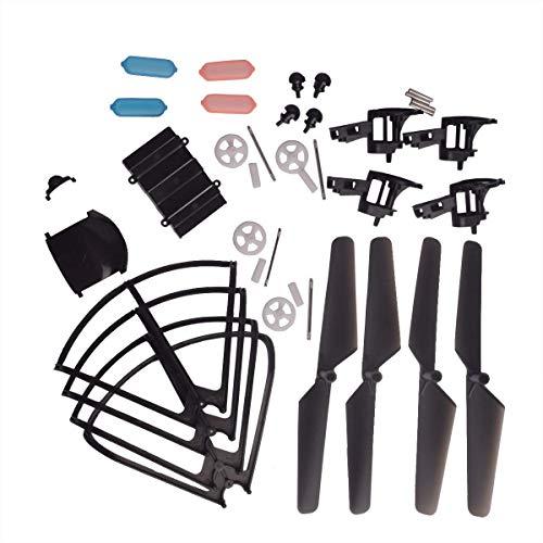 YouCute Kit de pièces de Rechange pour MJX DROCON X708W X708P Rc Quadcopter Drone Blade Gear Lading Gear Frame Gear