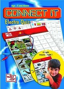 United Toys Connect it Electro Quiz, Multi Color